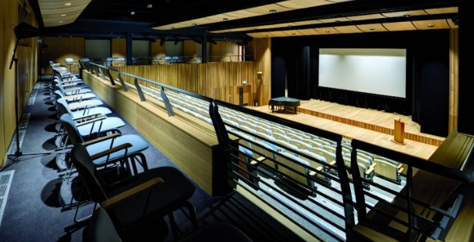 McBains worked on Ibstock Place School's new theatre, which includes an auditorium with seating for 300