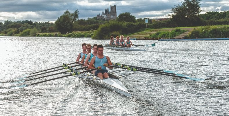 Rowing at King's Ely