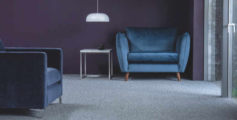 danfloor recommends the installation of their nylon range of carpets.