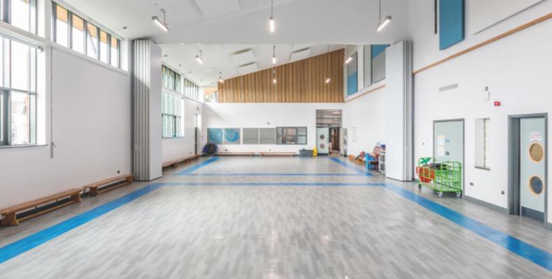 Pencoed Primary School has benefitted from new Gerflor flooring.