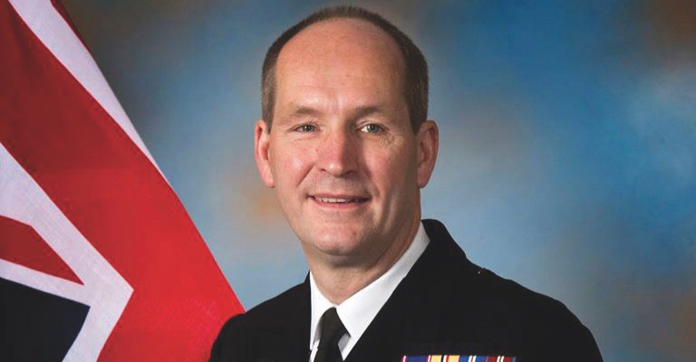 Blunden recently completed service in the Royal Navy.