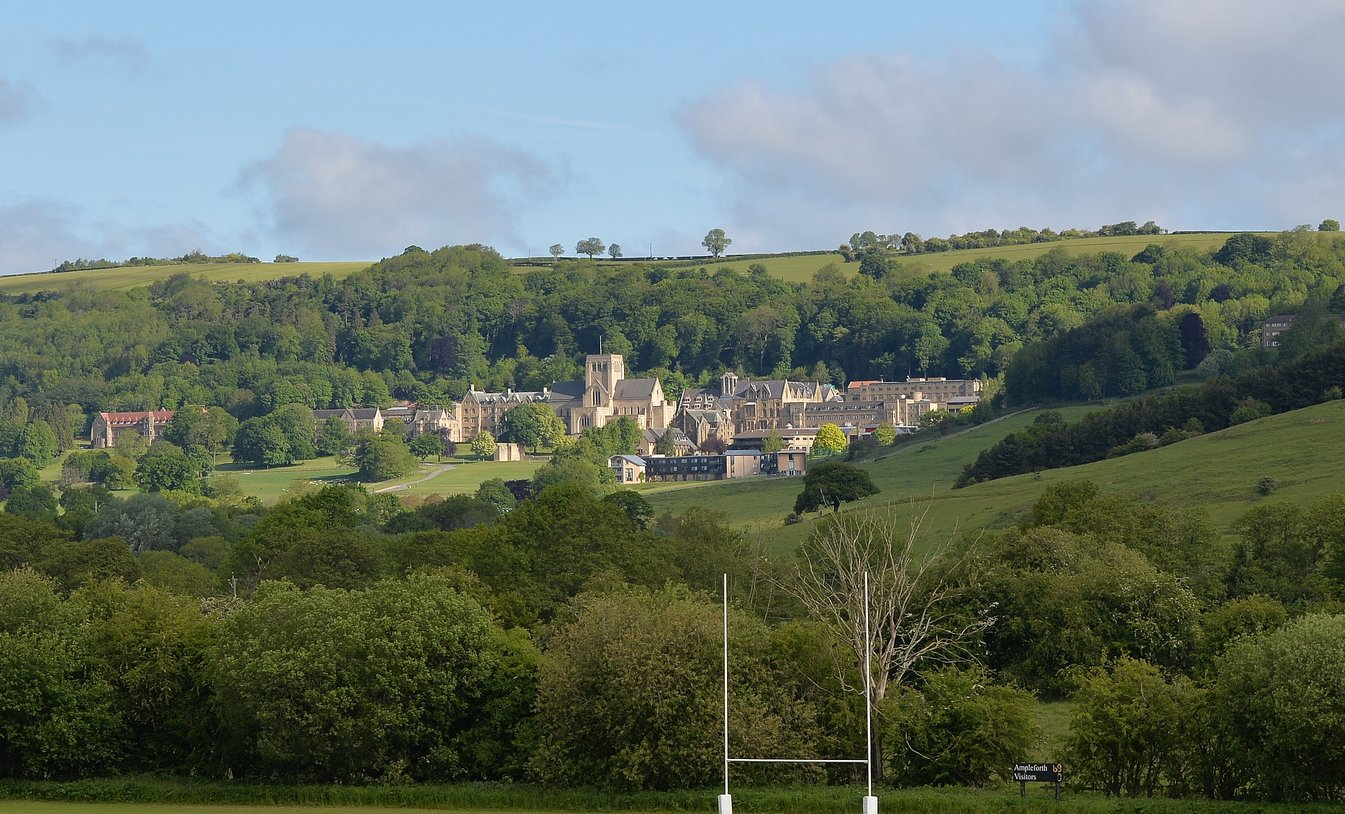 Ampleforth College has unveiled its first ever pupils' online prospectus