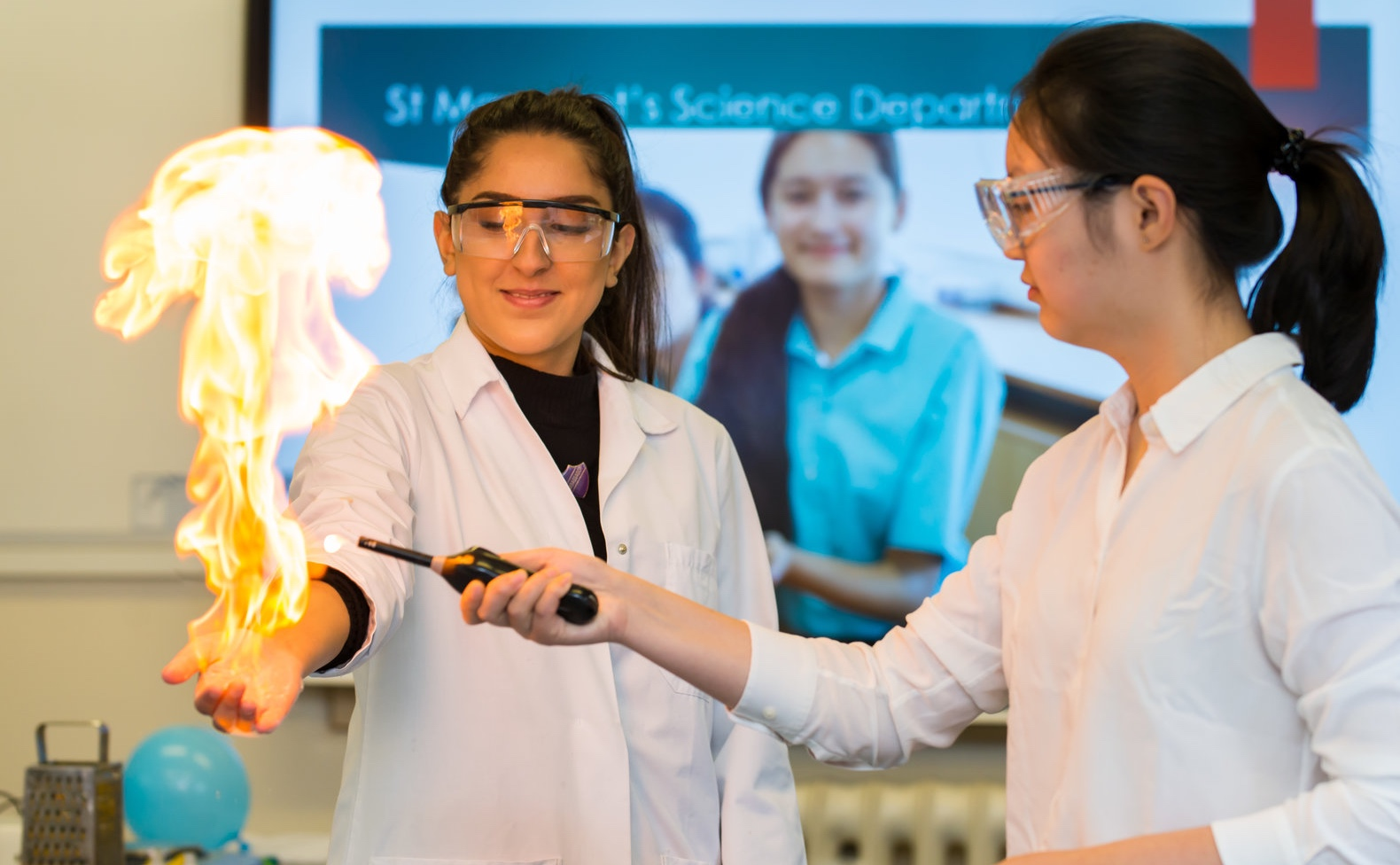 More girls are moving into science-related subjects