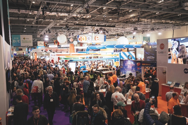 The event brings together thousands of edtech solutions every year