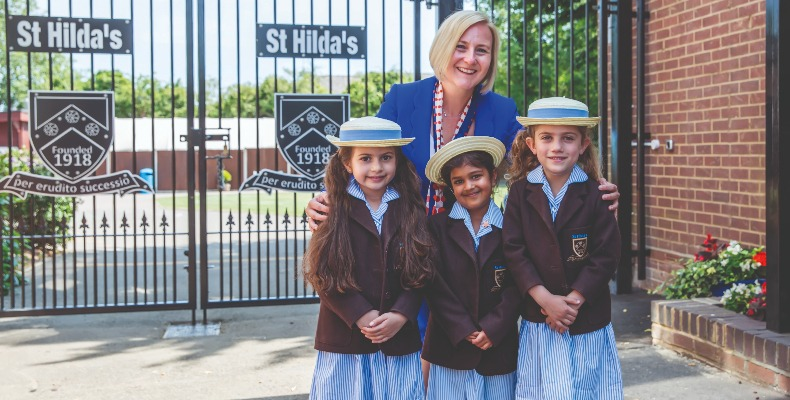 Over the last four years, Sarah Jane Styles has maintained St Hilda's academic excellence by focusing on her pupils' individual strengths