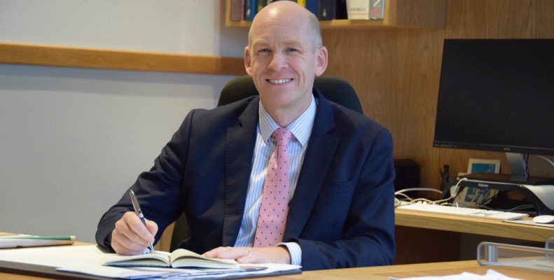 Michael Windsor says there's no such thing as a typical Abingdon boy as there are many different pathways for pupils to follow, all of which are equally valid and respected