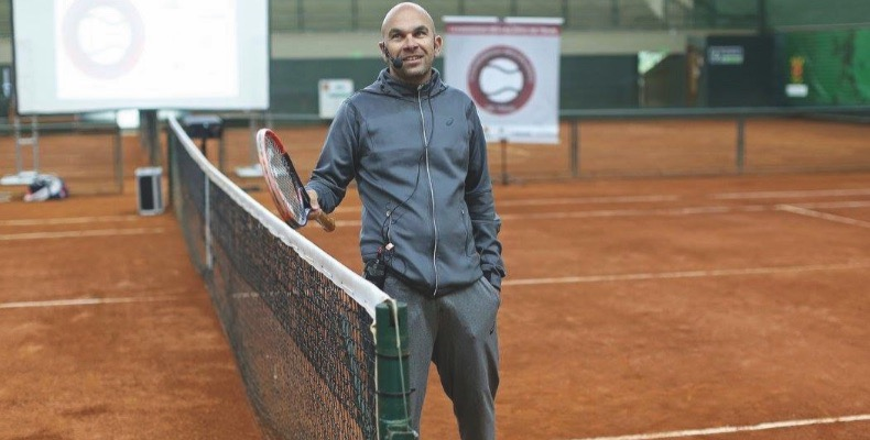 The tennis academy is one of only two in the UK