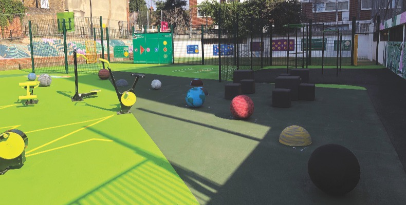 Sport andplayareas can also have a profound impact on the most vulnerable students in our schools