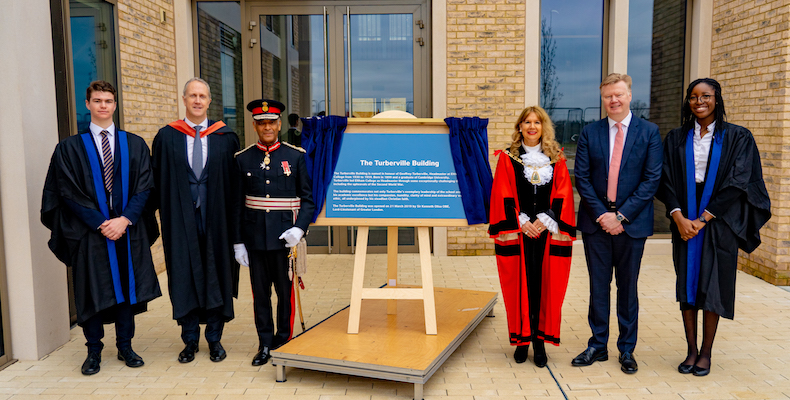 The Turberville Building at Eltham College was opened by lord-lieutenant of Great London, Kenneth Olisa, and the mayor of Bromley, Kim Botting