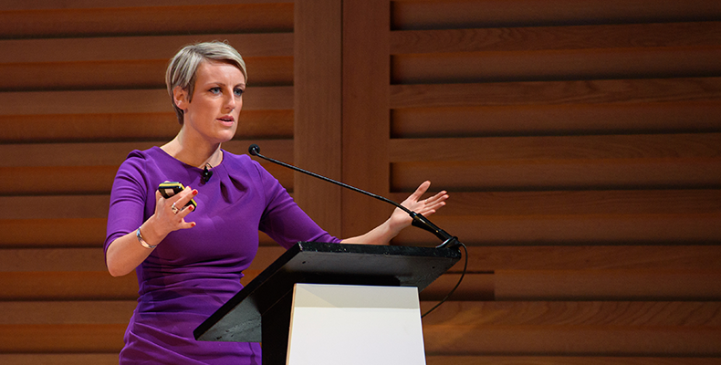 Journalist and presenter Steph McGovern will speak at the event