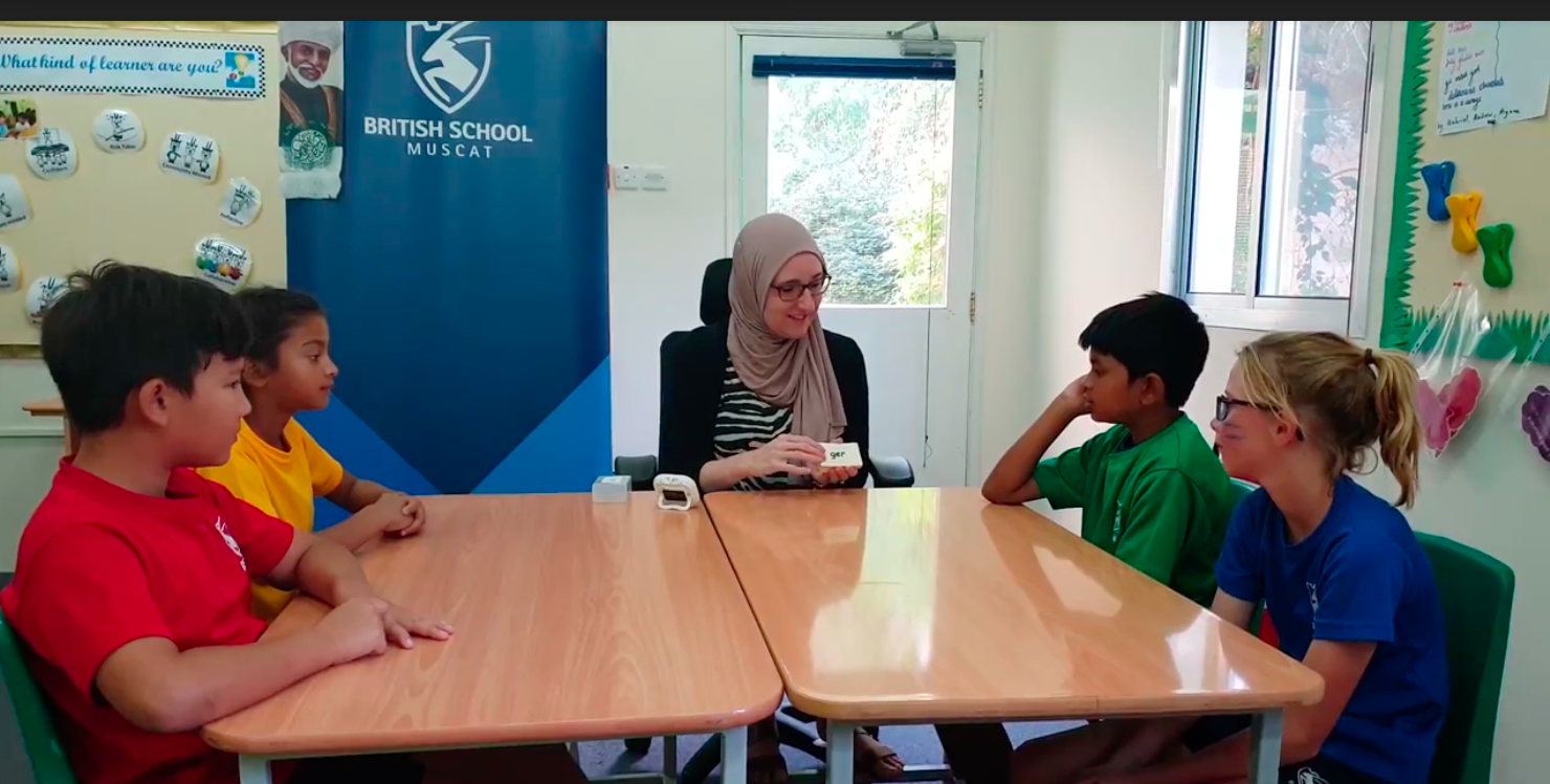 Lexonik was implemented in high-performing British School Muscat last February