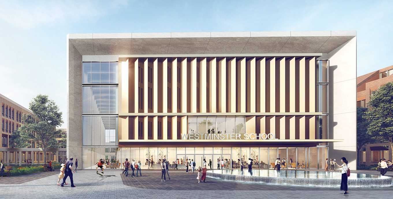 Chengdu Westminster School has been designed to reflect the architecture of Westminster School, London