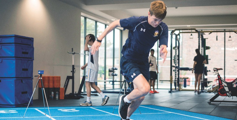 Specialists in creating S&C facilities, Absolute Performance (AP) was drafted in to work with the school team from the early planning stage