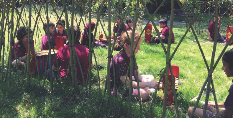 """""""Outdoor play and learning environments are crucial,"""" says Evans"""