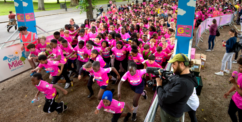 300,000 children have taken part in GO Run For Fun since its launch in 2013