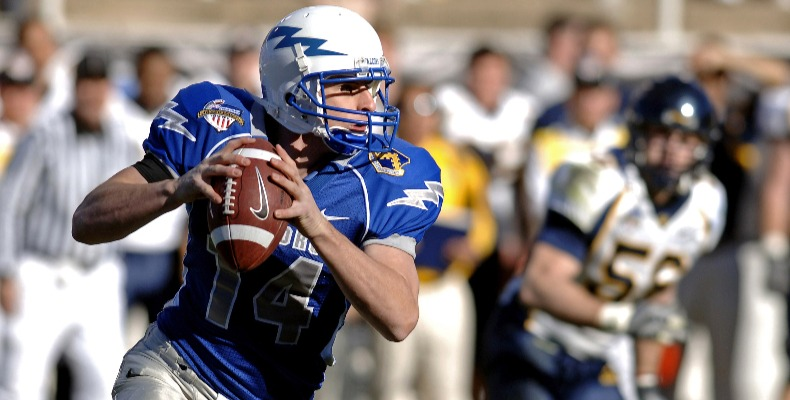 Sports scholarships include American football and ice hockey
