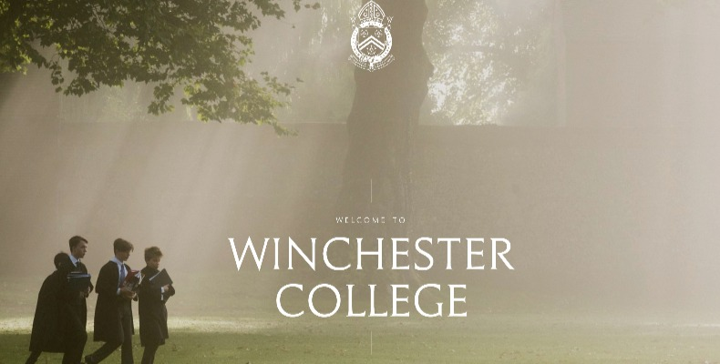 Winchester College's new website boasts more interactive elements that showcase the strong academic, sporting and pastoral record of the school