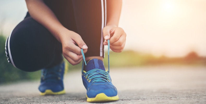 Mental Health UK encourage students to keep exercise up ahead of results day (picture by jcomp)