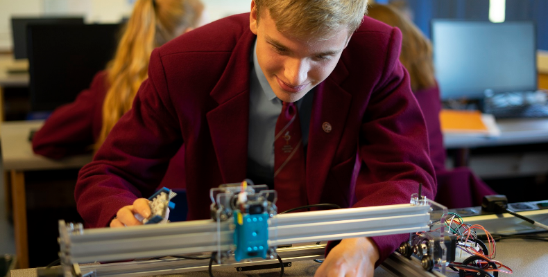 """""""It is particularly encouraging to see strong results in STEM subjects, given how critical they are to filling the skills gap"""""""