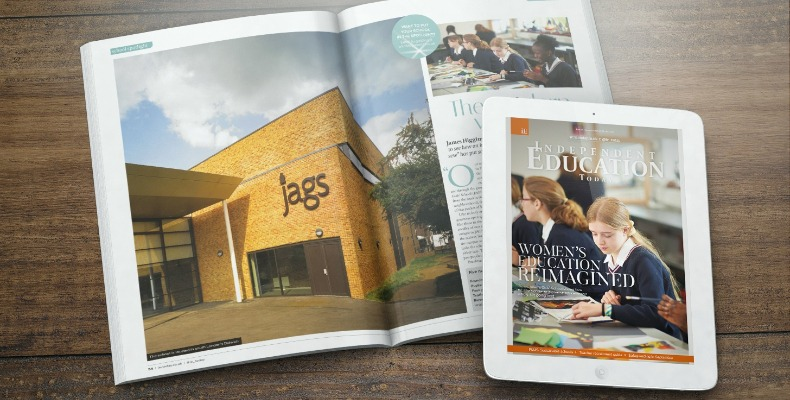 You can read our September issue online days before the print issue is hits desks