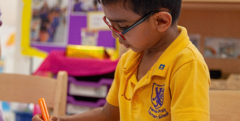 Hendon Prep educates children from two to 13 years old