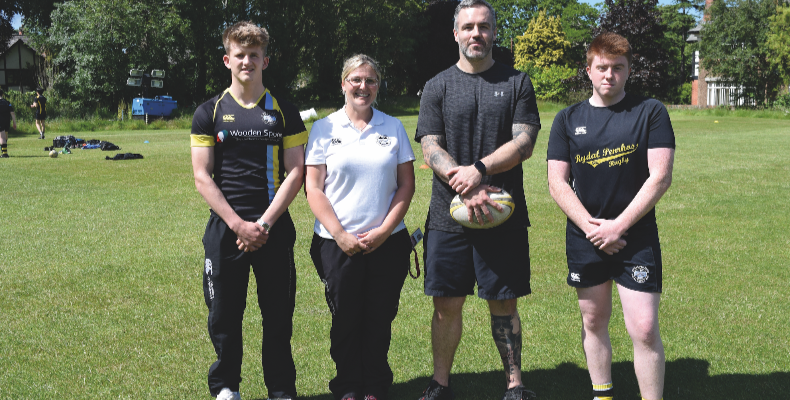 L to R: Jake Palmer-Reid, Nicky Head, Rob O'Donnell and Jamie Rogerson