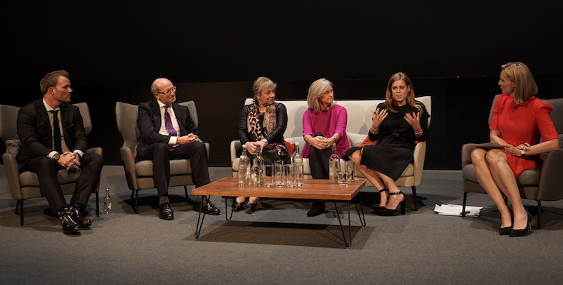 Millfield-Headmaster-Gavin-Horgan-speaking-at-the-Made-By-Dyslexia-Global-Summit-with-HRH-Princess-Beatrice