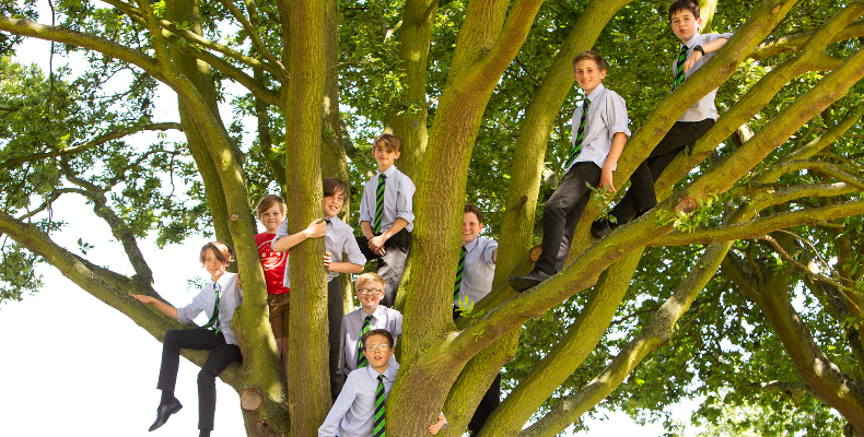 The school launched its Grow with Us campaign at an open day on 9 November