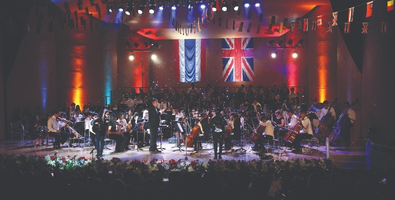 Shrewsbury International School Bangkok's Last Night of the Proms