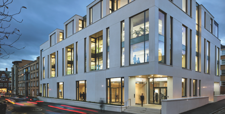 The Saunders Centre includes 15 science labs and a food technology department