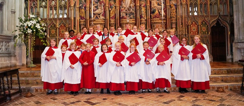 Gloucester Cathedral choristers