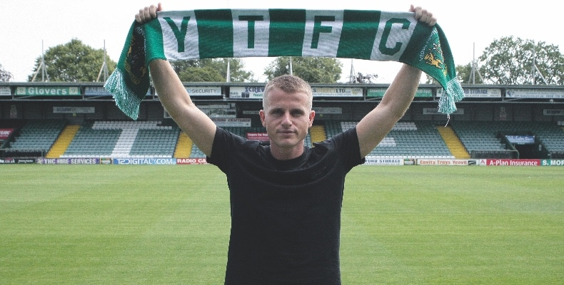 Old Millfieldian Tom Whelan signed for Yeovil Town Football Club in July 2019