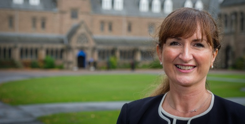 The Elaine Logan Scholarship is named for the school's first female head