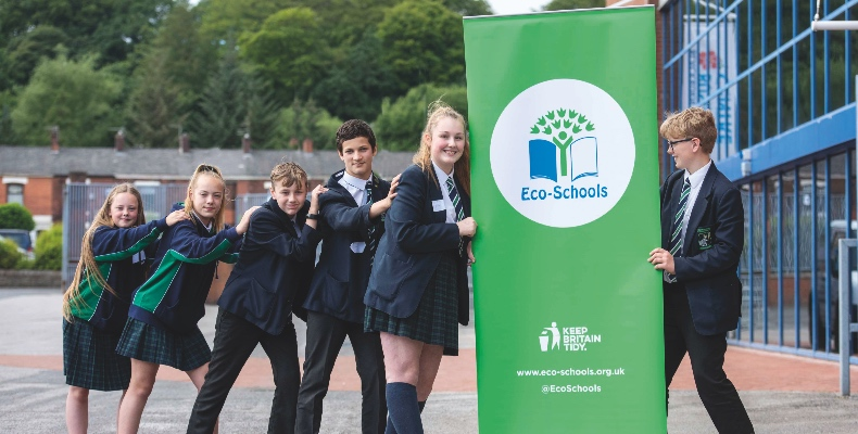 Three thousand schools have joined the Eco-Schools programme over the past two years