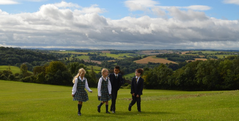 Monkton Combe School is located on the outskirts of Bath