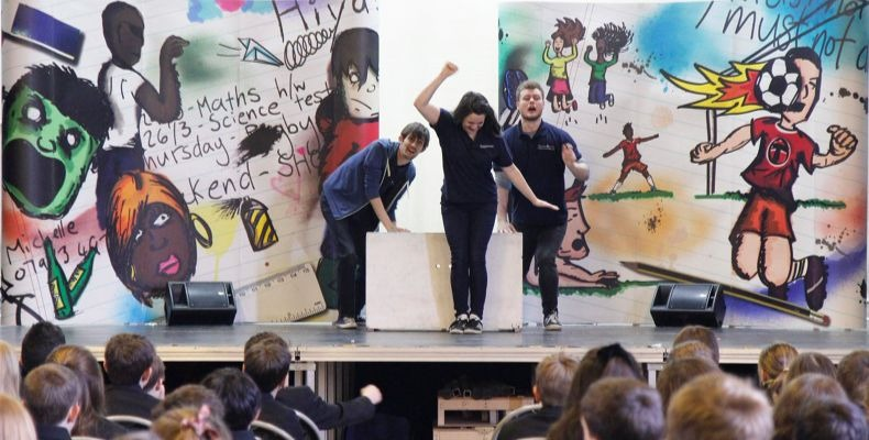 Pupils will watch a series of theatre-based episodes about the misuse of alcohol