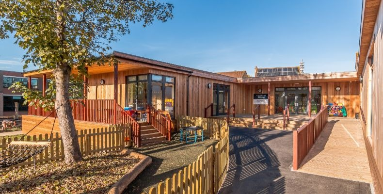 Early years provision at Colston's School by TG Escapes