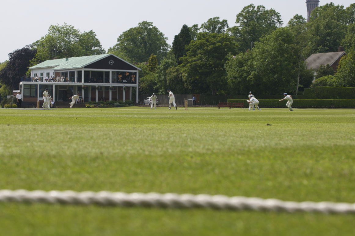 King Edward's School's 1st XI cricket ground and pavilion at Eastern Road