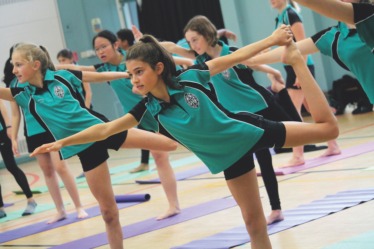 Truro High School have incorporated as much pupil interaction as possible into sport