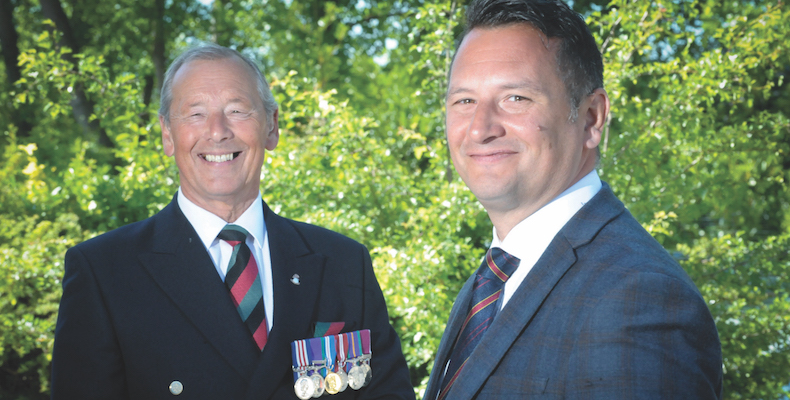Major Pat Ralph, chairman of the Yorkshire Regiment Association – which is helping SSGC to supply fully vetted military veterans as part of its staff administering the tests – and David Stubbs, managing director of SSGC