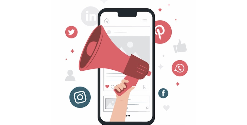 Social media is the most effective, low- or no-budget tool for school marketers (Image: freepik.com)