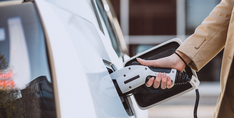 One in eight schools in the survey highlighted a lack of charging points as an issue with introducing electric vehicles (Image: Freepik)