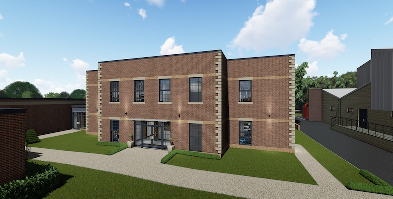 Plans for the new modular building at St Edward's School