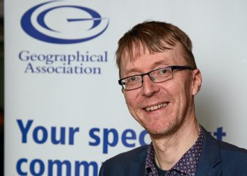 King's Ely teacher becomes president of Geographical Association
