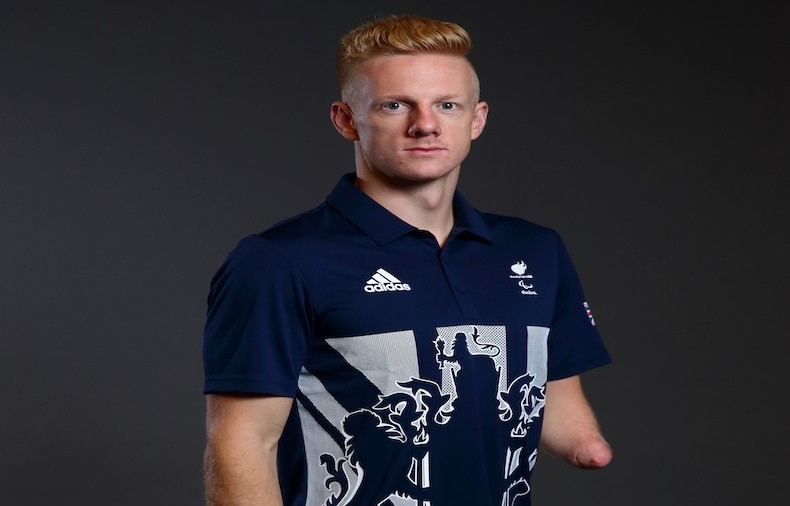 Hill was aged just 15 when he made his Paralympic debut in Athens in 2004 as the youngest member of the Team GB squad